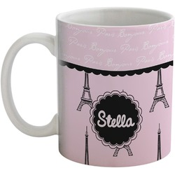 Paris & Eiffel Tower Coffee Mug (Personalized)