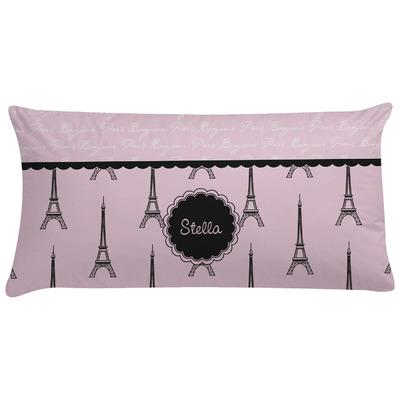 Paris & Eiffel Tower Pillow Case (Personalized)