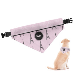 Paris & Eiffel Tower Dog Bandana (Personalized)