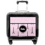 Paris & Eiffel Tower Pilot / Flight Suitcase (Personalized)