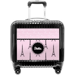 Paris & Eiffel Tower Pilot / Flight Suitcase (Personalized)