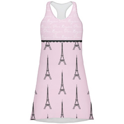 Paris & Eiffel Tower Racerback Dress (Personalized)