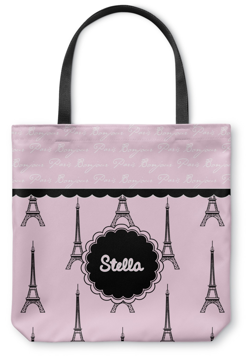 Paris Amp Eiffel Tower Canvas Tote Bag Medium 16 Quot X16