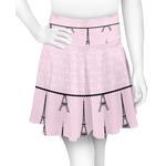 Paris & Eiffel Tower Skater Skirt (Personalized)