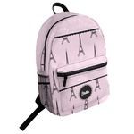 Paris & Eiffel Tower Student Backpack (Personalized)