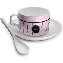 Paris & Eiffel Tower Tea Cups (Personalized)