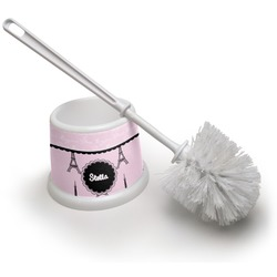 Paris & Eiffel Tower Toilet Brush (Personalized)