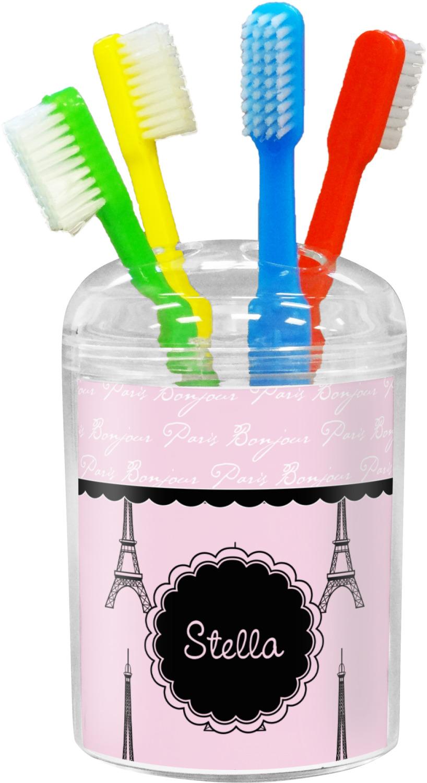 Paris Eiffel Tower Toothbrush Holder