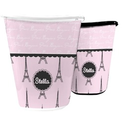 Paris & Eiffel Tower Waste Basket (Personalized)