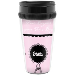 Paris & Eiffel Tower Travel Mugs (Personalized)