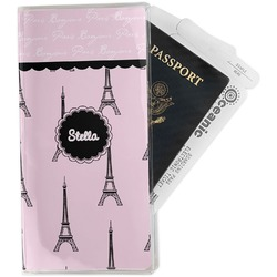 Paris & Eiffel Tower Travel Document Holder