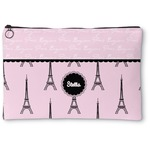 Paris & Eiffel Tower Zipper Pouch (Personalized)