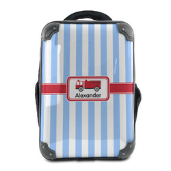 Firetruck Hard Shell Backpack (Personalized)