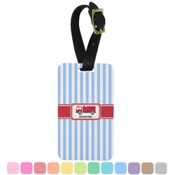Firetruck Aluminum Luggage Tag (Personalized)