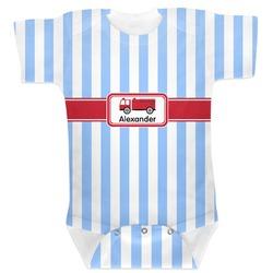 Firetruck Baby Bodysuit (Personalized)