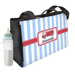 Firetruck Diaper Bag (Personalized)