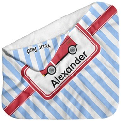 Firetruck Baby Hooded Towel (Personalized)