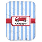 Firetruck Baby Swaddling Blanket (Personalized)
