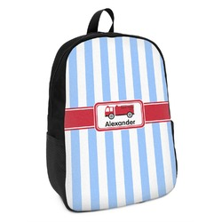 Firetruck Kids Backpack (Personalized)