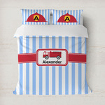 Firetruck Duvet Covers (Personalized)