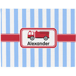Firetruck Placemat (Fabric) (Personalized)