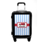 Firetruck Carry On Hard Shell Suitcase (Personalized)