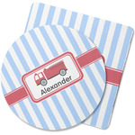 Firetruck Rubber Backed Coaster (Personalized)