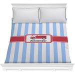 Firetruck Comforter (Personalized)