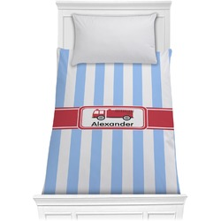 Firetruck Comforter - Twin (Personalized)
