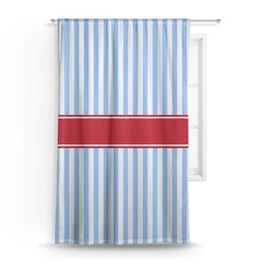 Firetruck Curtain (Personalized)