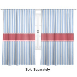 "Firetruck Curtains - 56""x80"" Panels - Lined (2 Panels Per Set) (Personalized)"