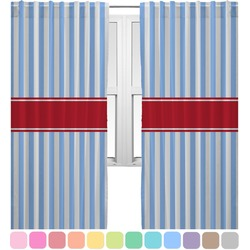 Firetruck Curtains (2 Panels Per Set) (Personalized)