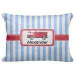 "Firetruck Decorative Baby Pillowcase - 16""x12"" (Personalized)"