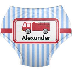Firetruck Diaper Cover (Personalized)