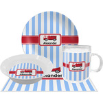 Firetruck Dinner Set - 4 Pc (Personalized)