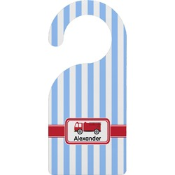 Firetruck Door Hanger (Personalized)