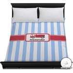 Firetruck Duvet Cover (Personalized)