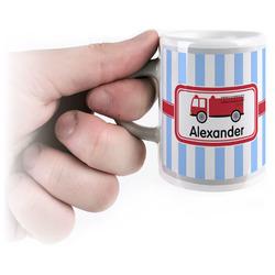 Firetruck Espresso Cups (Personalized)
