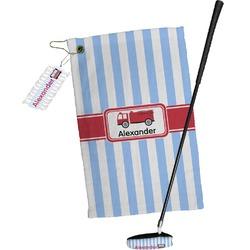 Firetruck Golf Towel Gift Set (Personalized)