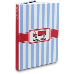 Firetruck Hardbound Journal (Personalized)