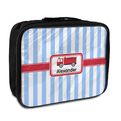 Firetruck Insulated Lunch Bag (Personalized)