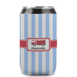 Firetruck Can Sleeve (12 oz) (Personalized)