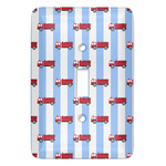 Firetruck Light Switch Covers (Personalized)