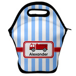 Firetruck Lunch Bag w/ Name or Text