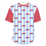 Firetruck Men's Crew T-Shirt (Personalized)