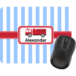 Firetruck Mouse Pads (Personalized)