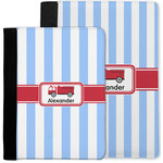Firetruck Notebook Padfolio w/ Name or Text