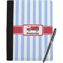 Firetruck Notebook Padfolio (Personalized)
