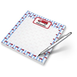 Firetruck Notepad (Personalized)