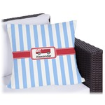 Firetruck Outdoor Pillow (Personalized)